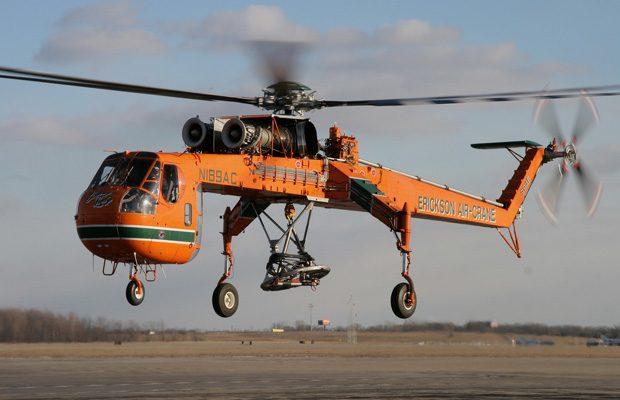 Sikorsky S-64 Aircrane, util pentru stingerea incendiilor