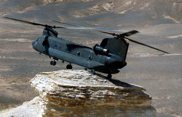 Boeing nu face numai avioane comerciale, ci si elicoptere militare, precum Boeing CH-47 Chinook