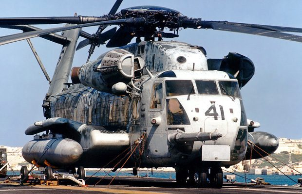 Sikorsky CH-53 Super Stallion, cel mai mare elicopter american