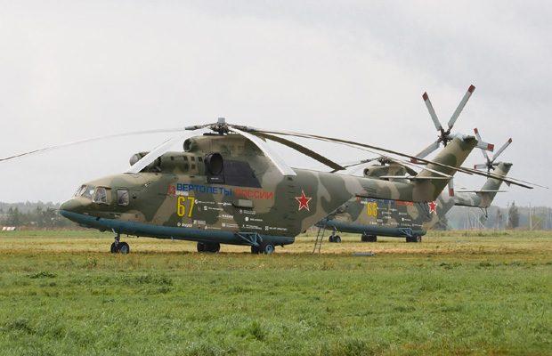 Mil Mi-26 este cel mai mare elicopter din lume