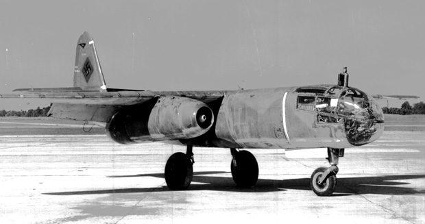 Arado Ar 234, primul bombardier cu reactie