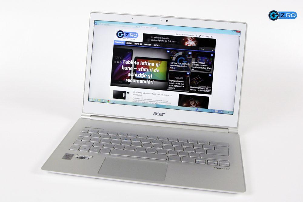 Acer Aspire S7 este un laptop premium