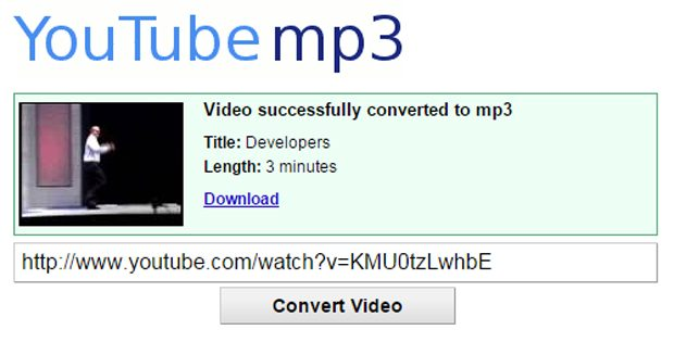 Youtube-MP3, o aplicatie utila