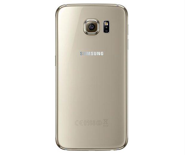 Spatele lui Galaxy S6 este realizat din sticla