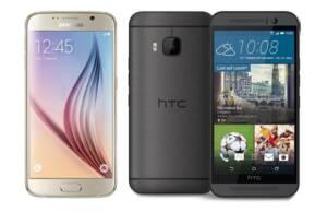 Samsung Galaxy S6 si HTC One M9, doua telefoane de top