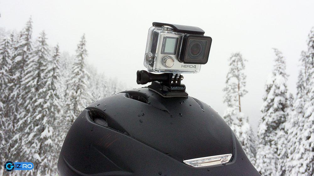 GoPro-ul Hero4 SIlver Edition este un action-cam de top, cu un pret pe masura