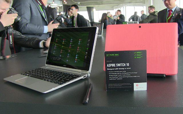 Acer Aspire Switch 10, 10E şi 11V – tablete convertibile în laptopuri