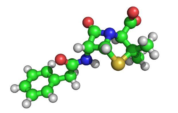 Structura chimica a penicilinei