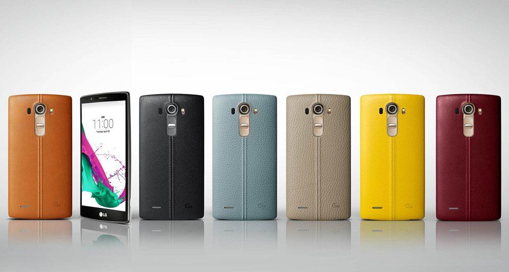 LG G4 este disponibil cu capac spate din piele sau plastic