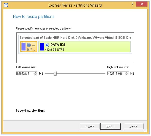 Partition Manager 15
