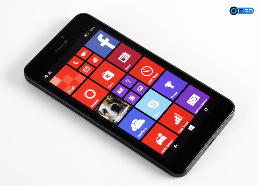 Microsoft lumia 640 xl review calitate la pre mic giz for Photo ecran lumia 640
