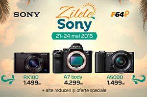 Zilele Sony la F64