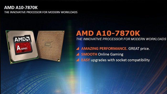 AMD A10-7870K - o solutie cu un excelent raport pret/performante