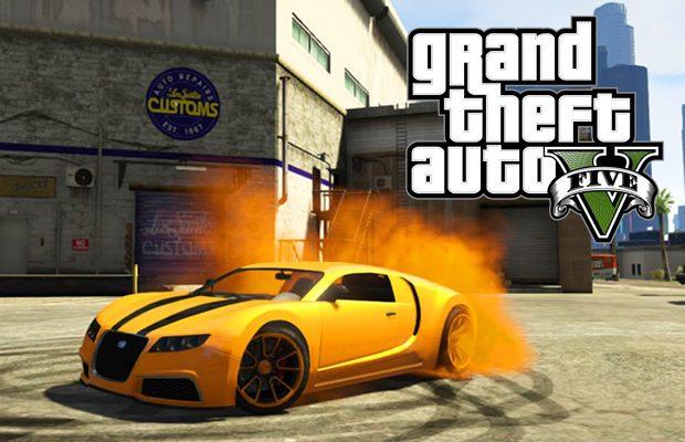 In GTA V poti alege numeroase masini spectaculoase