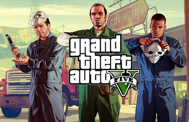 Grand Theft Auto V, un joc superb