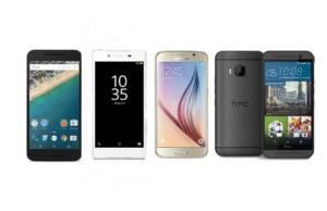 """Cele patru smartphone-uri de top de 5"""""""