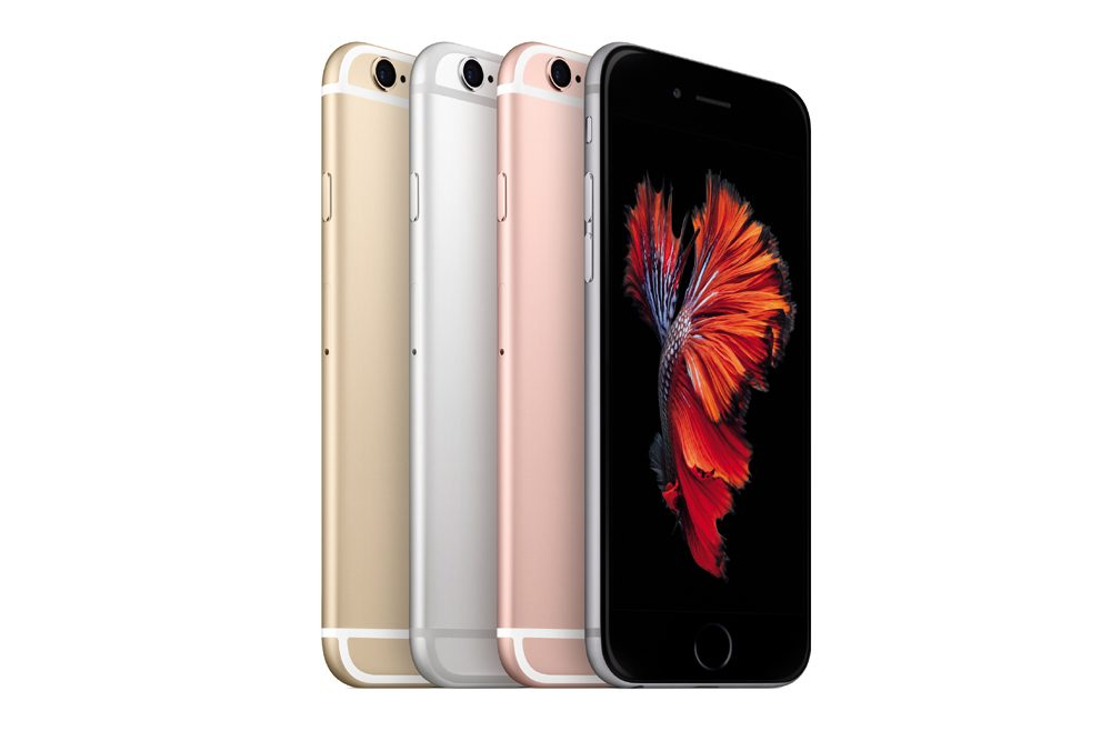 Culorile in care este disponibil iPhone 6s