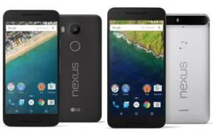 Nexus 5X si Nexus 6P
