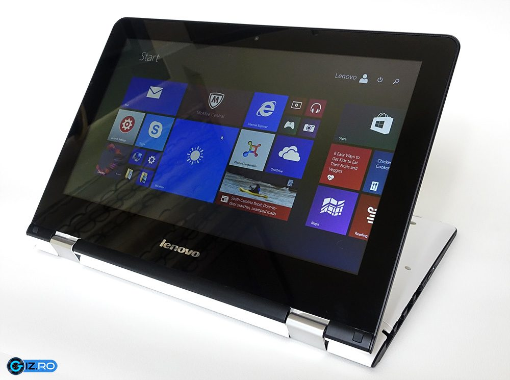 lenovo yoga 300 11 review convertibil compact i. Black Bedroom Furniture Sets. Home Design Ideas
