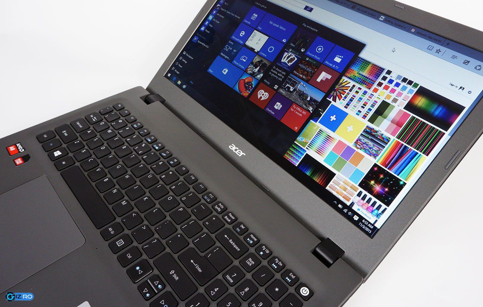 Acer-ul E5-522 este un laptop de buget bunişor, însă preţul său va reprezenta argumentul decisiv pentru un potenţial cumpărător