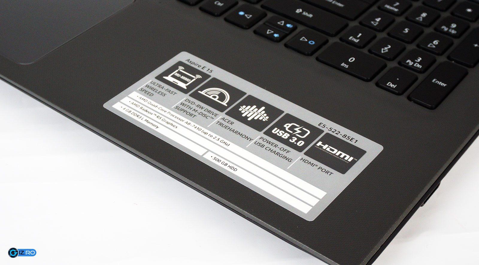 Platforma hardware este principalul aspect care diferenţiază acest laptop de concurenţă