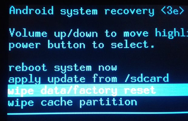 Functia Recovery Mode pentru Android