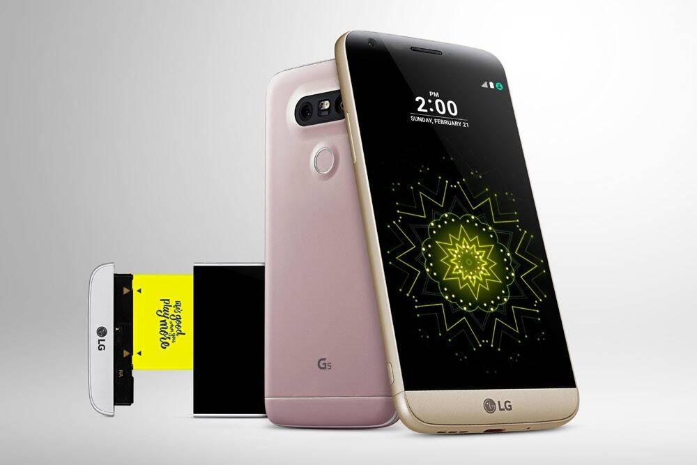 LG G5 este un telefon modular