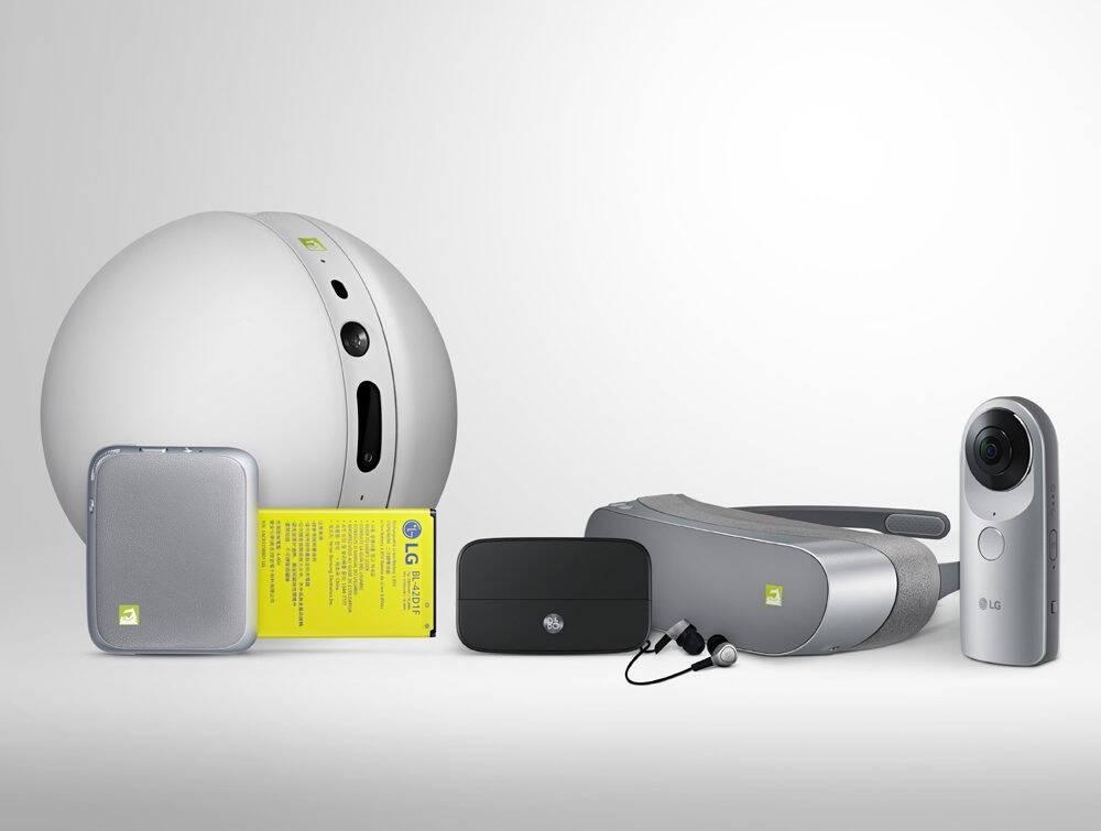 Gama de accesorii cu care vine LG G5