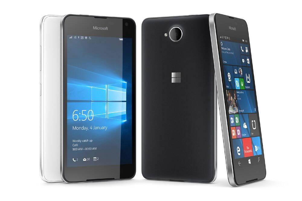 Microsoft Lumia 650 foloseste Windows 10