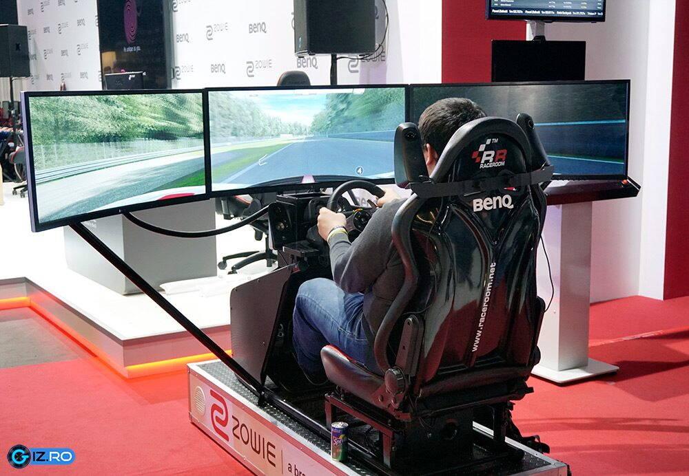 Intel Extreme Masters 2016 - simulator auto