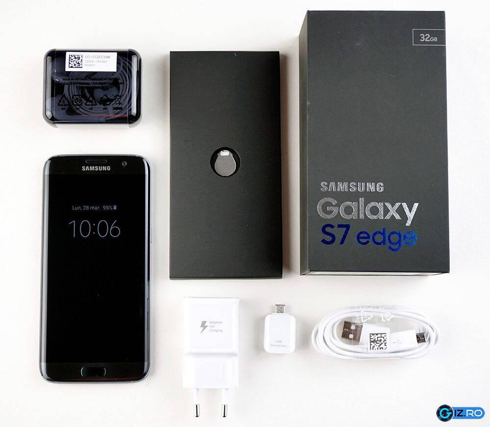 Pachetul complet de accesorii pentru Galaxy S7 Edge
