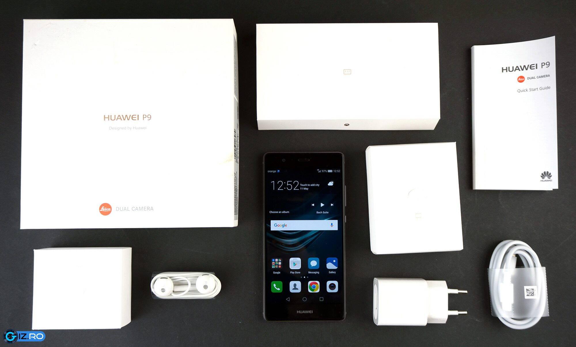 Pachetul complet al lui Huawei P9
