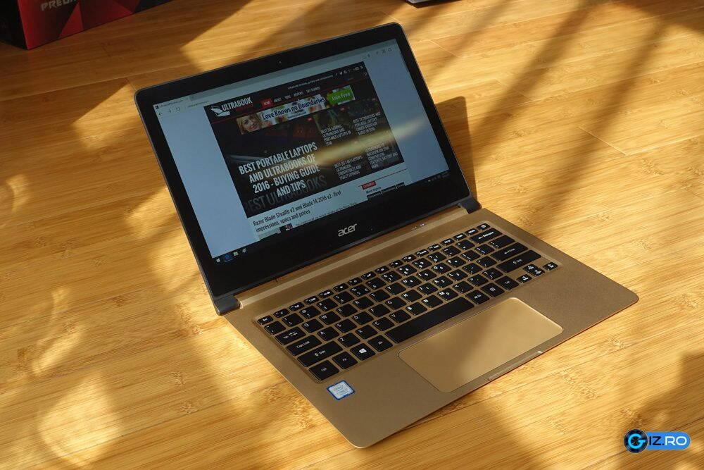 Acer Switch 7, un ultraportabil atractiv