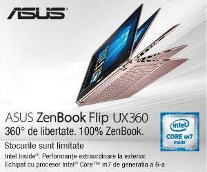 Reclama Asus Zenbook Flip UX360