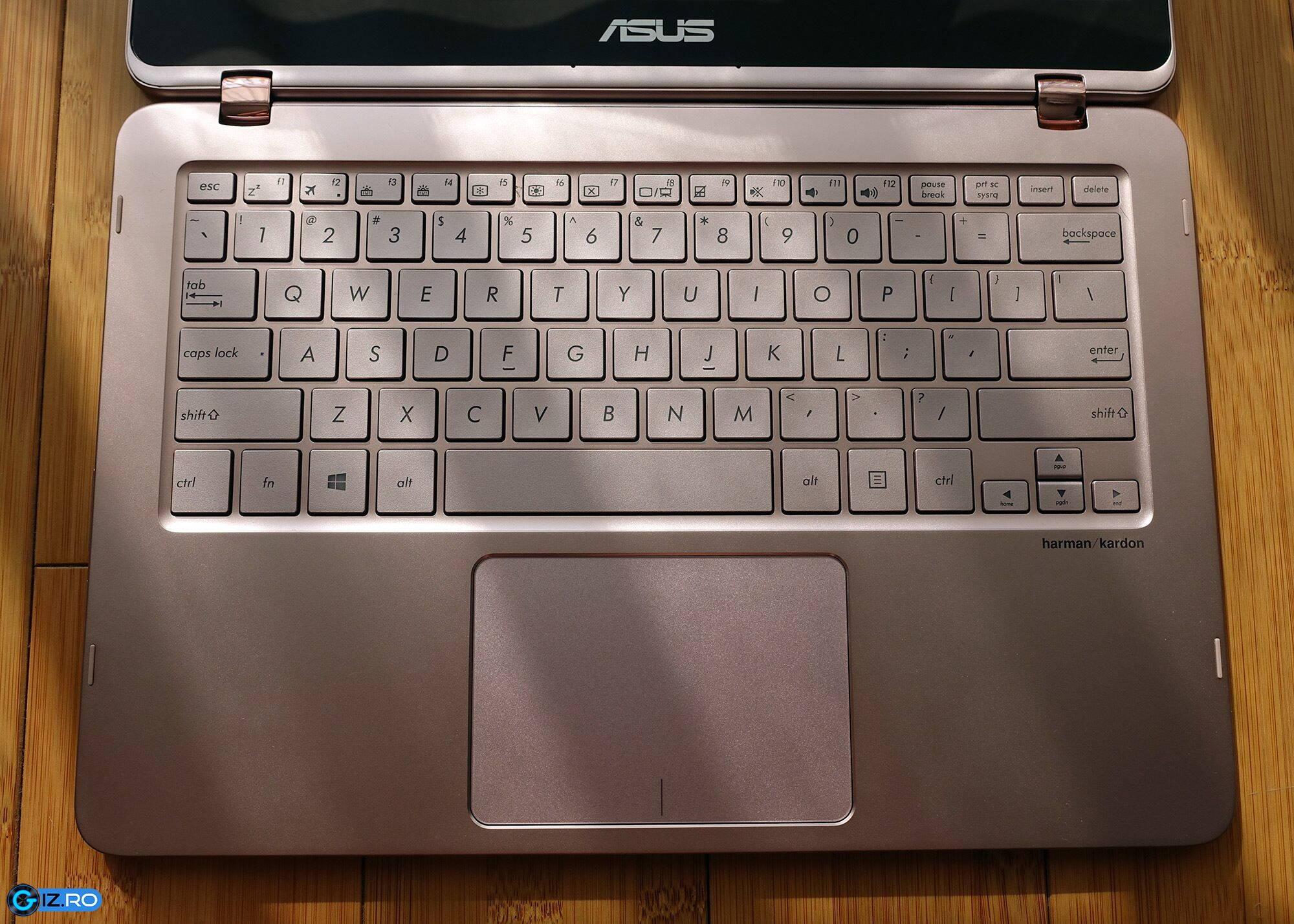 asus zenbook flip ux360ua tastatura si touchpad