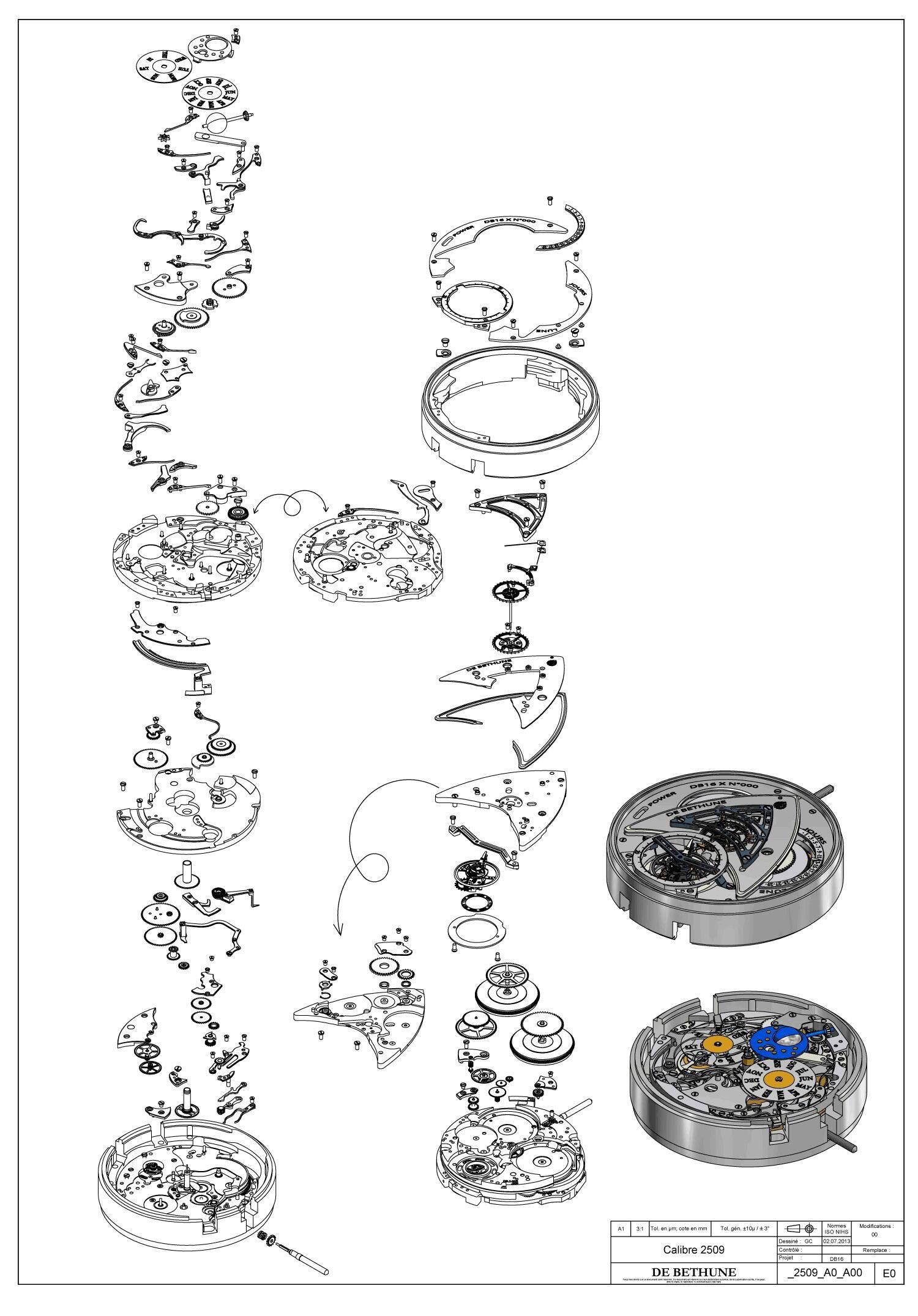 ceas-mecanic-piese