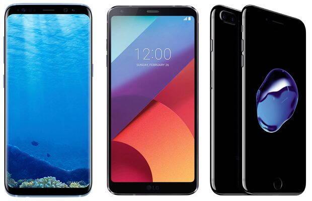 Samsung Galaxy S8 sau Huawei P10, LG G6, iPhone 7 Plus – ce să aleg