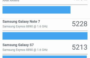 Samsung Galaxy A5 2017 benchmark