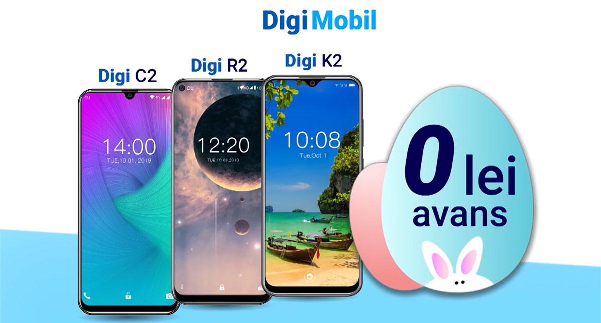 Telefoane 4G și 5G în oferta Digi Mobil / RCS-RDS – cele mai bune opțiuni
