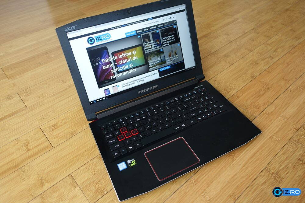 Acer Predator Helios 300 Review Laptop De Jocuri De