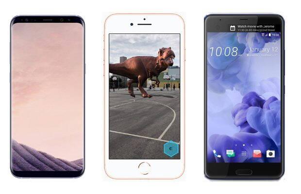 iPhone 8 Plus sau Samsung Galaxy S8 Plus, Huawei P10 Plus, HTC U Ultra: ce să aleg?