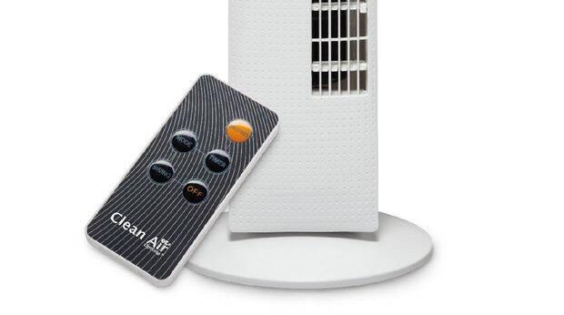 ventilator-telecomandă