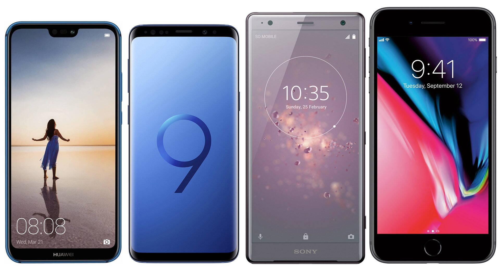 comparatie-huawei-p20