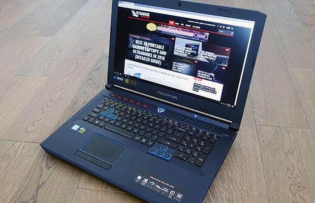 Acer Predator Helios 500 review (Core i9-8950HK, GTX 1060, ecran IPS 144 Hz și GSync)