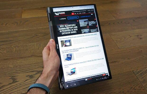 Asus Zenbook Flip UX362 review (UX362FA – i7-8565U, ecran touch, format 2-in-1)