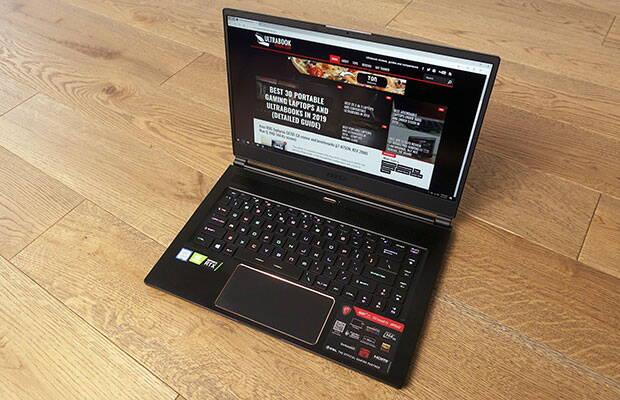MSI GS65 Stealth Thin 8SG review și teste (i7-8750H, RTX 2080 Max-Q, ecran 144 Hz)