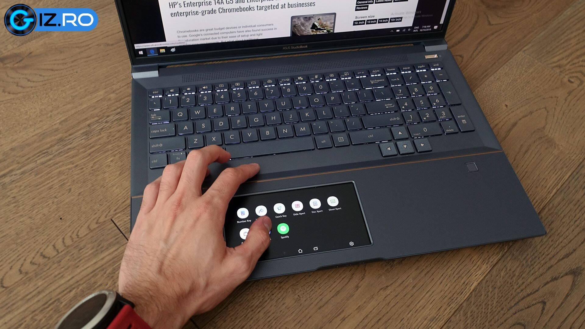 asus-studiobook-pro-x-keyboard-clickpad