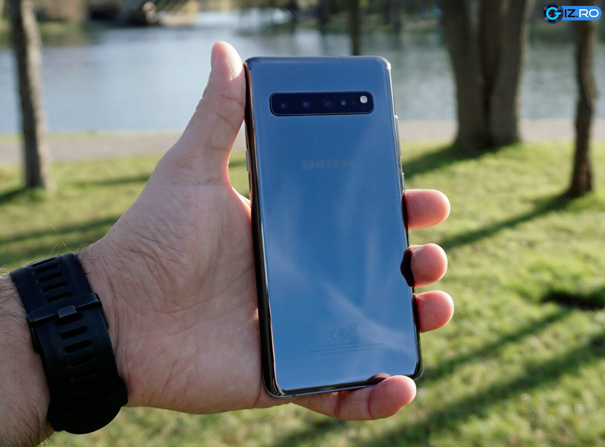 Samsung Galaxy S10 5G spate