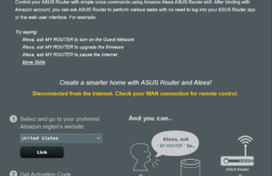 amazon alexa ifttt router asus
