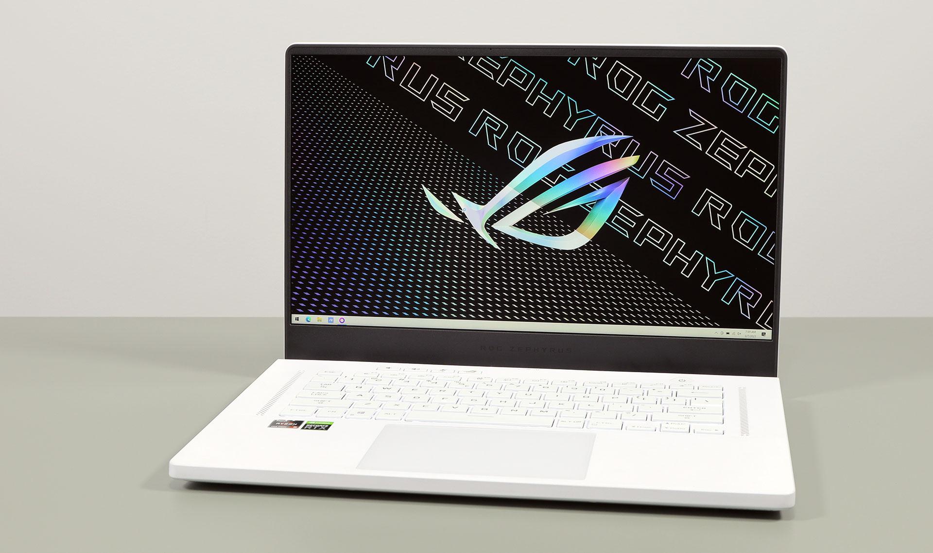 ASUS ROG Zephyrus G15 GA503 review – RTX 3080 și 3070 într-un laptop portabil